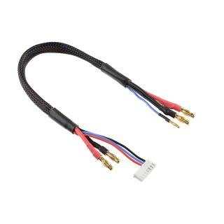Nabíjecí kabel s 6S XH - 4mm/2mm 30cm