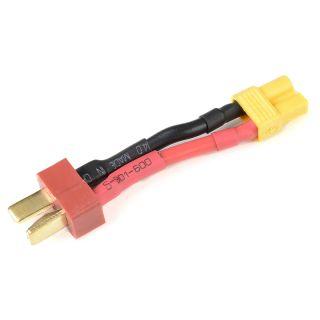 Konverzní kabel Deans samec - XT-30 samec 14AWG