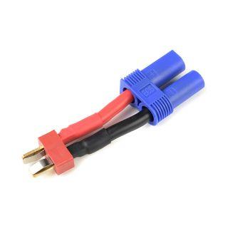 Konverzní kabel Deans samec - EC5 samec 12AWG