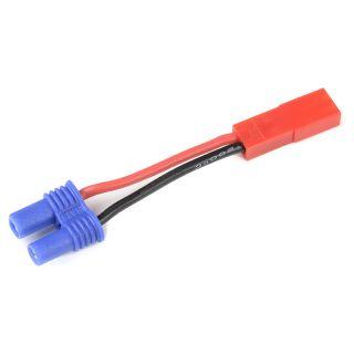 Konverzní kabel EC2 samec - JST samice 20AWG