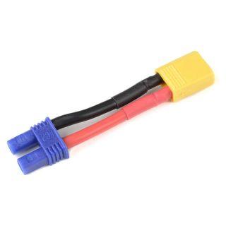 Konverzní kabel EC2 samec - XT-30 samice 14AWG
