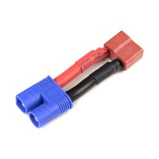 Konverzní kabel Deans samice - EC3 samice 12AWG