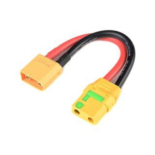 Prodlužovací kabel XT-90 Anti-Spark 10AWG 12cm