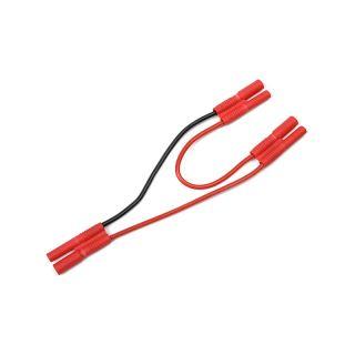 Kabel Y sériový 2.0mm zlacený 14AWG 12cm