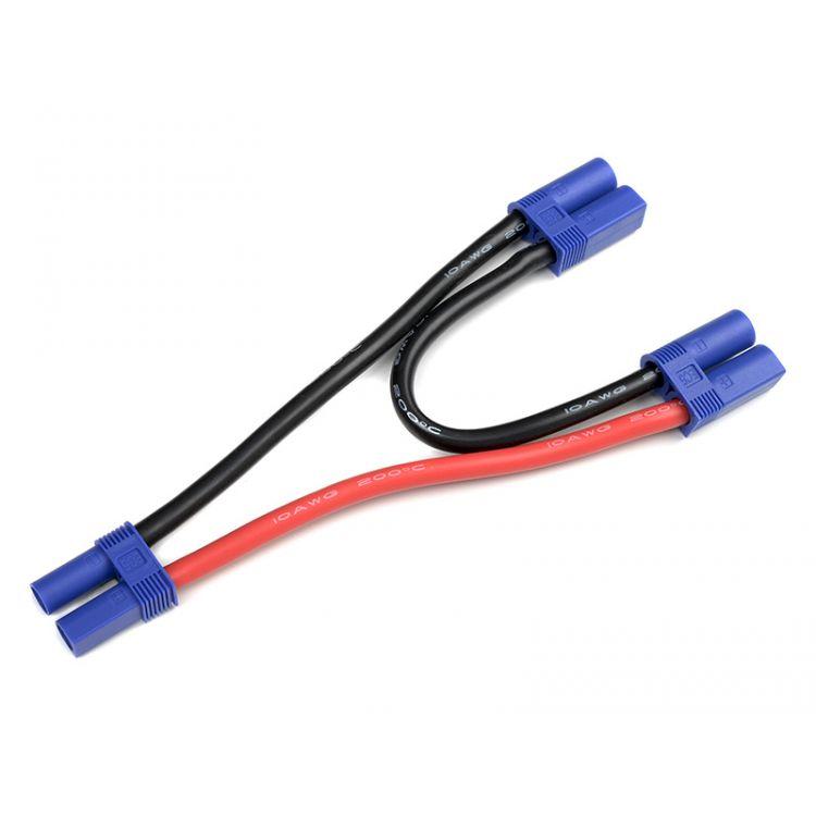Sériový Y-kabel EC5 10AWG 12cm