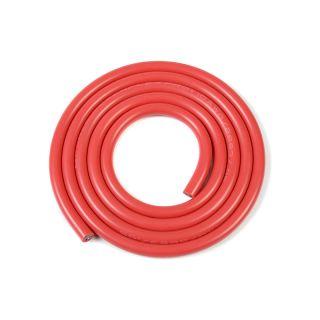 Kabel se silikonovou izolací Powerflex 10AWG červený (1m)