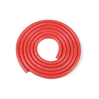 Kabel se silikonovou izolací Powerflex 12AWG červený (1m)