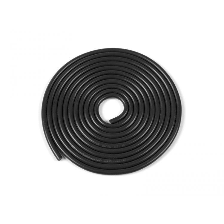 Kabel se silikonovou izolací Powerflex 20AWG černý (1m)