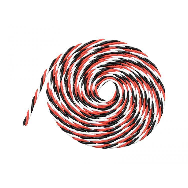 Kabel serva kroucený 22AWG (2m)
