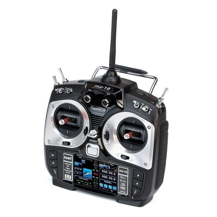 MZ-18 2,4GHz HOTT RC samotný vysílač