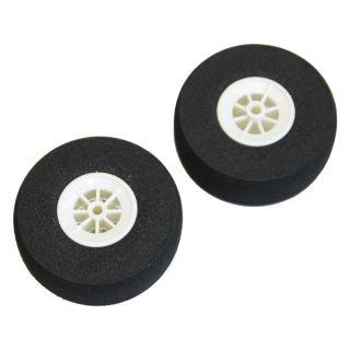 Mechové podvozkové kolo ploché 70mm (2)