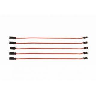 Predlžovací kábel 200mm JR 0,3qmm silný, pozlátené kontakty (5ks.)