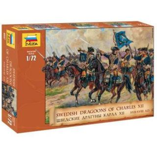 Model Kit figurky 8057 - Swedish Dragoons  (re-release) (1:72)
