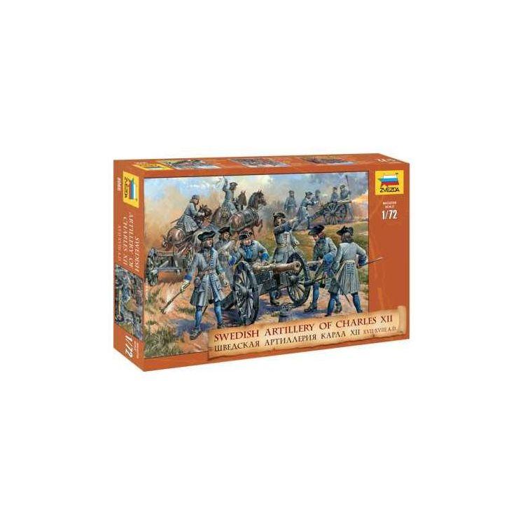 Model Kit figurky 8066 - Swedish Artillery  (re-release) (1:72)