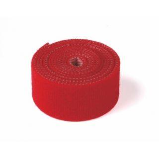 Suchý zips obojstranný 1000mm, červený
