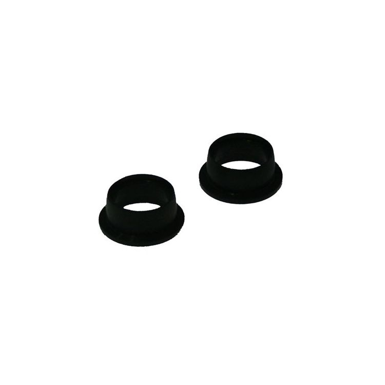 Silikonové těsnící kroužky pro motory .12 černé (2 ks.)