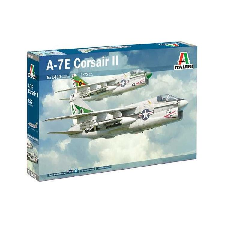 Model Kit letadlo 1411 - A-7E Corsair II (1:72)