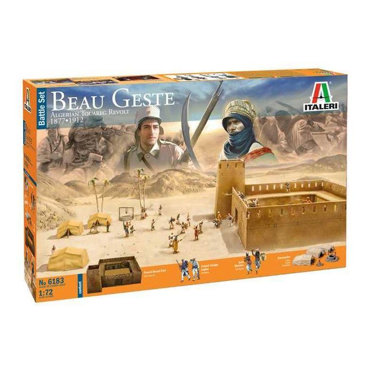 Model Kit diorama 6183 - Beau Geste  - Algerian Tuareg Revolt (1:72)
