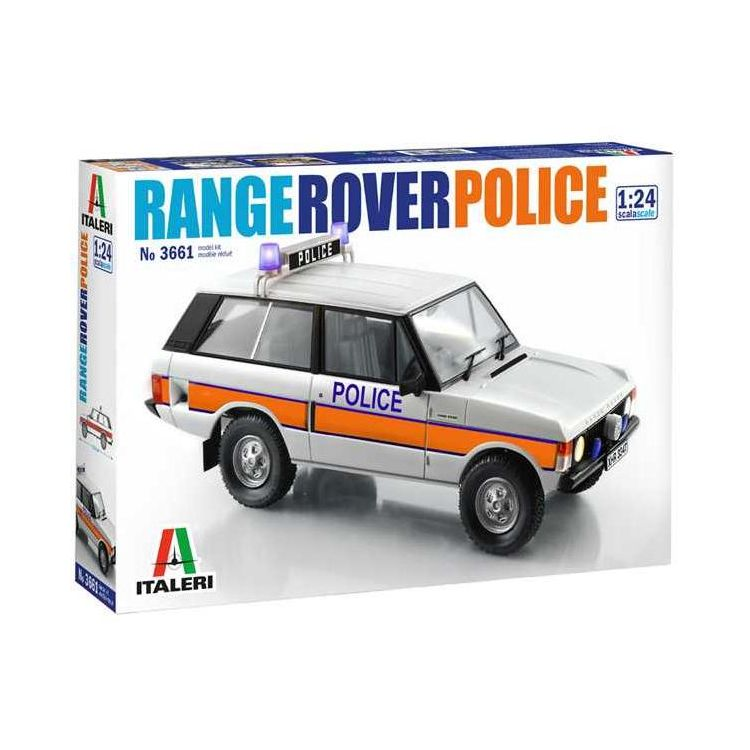 Model Kit auto 3661 - Police Range Rover (1:24)