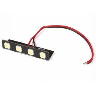 RACE COPTER ALPHA 250 Q - predné biele LED (PCB)