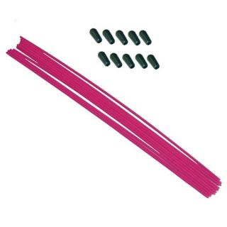 Anténové trubičky RC AUTA 10 ks. - růžové