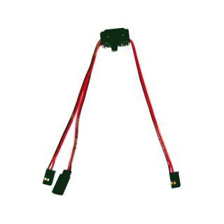Vypínač s nabíjecí zdířkou/kabelem - FUTABA