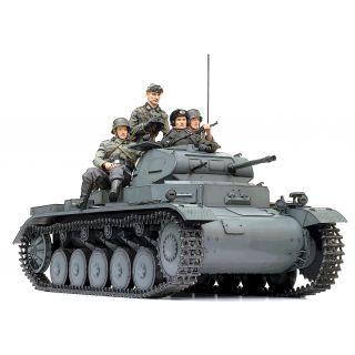 Model Kit tank 75025 - Pz.Kpfw II Ausf. B (1:6)