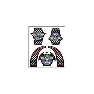 XXX Main - Airbrush šablóna - Skull Monkey