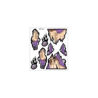 XXX Main - Airbrush šablóna - Torn