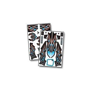 XXX Main - Airbrush nálepka - Ignite 1/8 Buggy X-Wrapz (modrá)