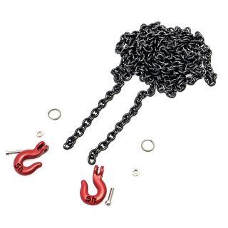 Odtahový řetěz s háky