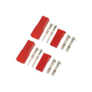Konektor zlacený JST (2 páry)