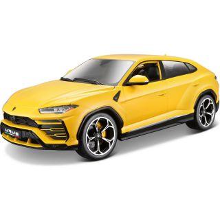 Bburago Plus Lamborghini Urus 1:18 žlutá