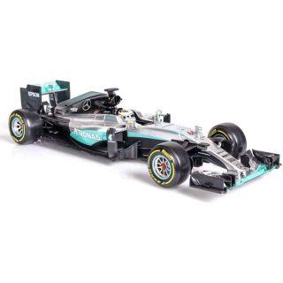 Bburago Plus Mercedes AMG Petronas W07 1:18 Hamilton