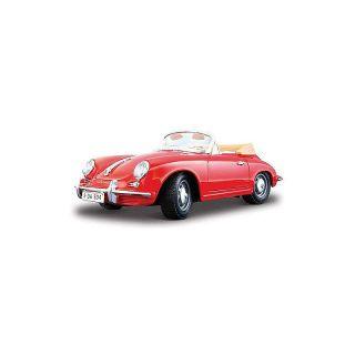Bburago Porsche 356B Coupe 1961 1:24 červená