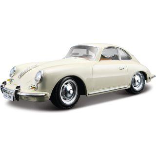 Bburago Porsche 356B Coupe 1961 1:24 krémová