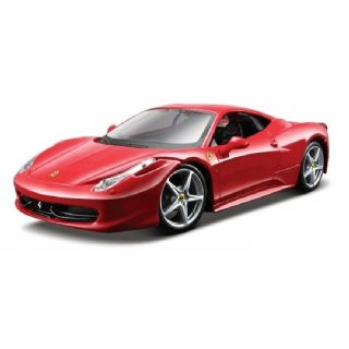 Bburago Ferrari 458 Italia 1:24 červená