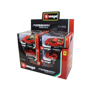 Bburago sada modelů aut Ferrari 1:43 12ks