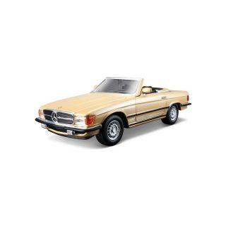 Bburago Mercedes-Benz 450 SL 1977 1:32 zlatá metalíza