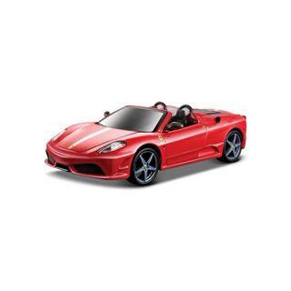 Bburago Ferrari Spider 16M 1:32 metalická červená
