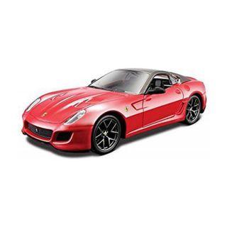 Bburago Ferrari 599 GTO 1:32 metalická červená
