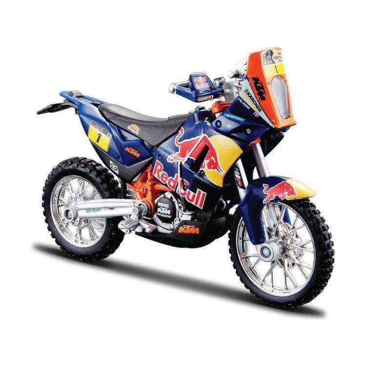 Bburago Red Bull KTM 450 Rally Dakar 1:18 NO1
