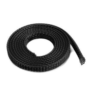 Ochranný kabelový oplet 6mm černý (1m)