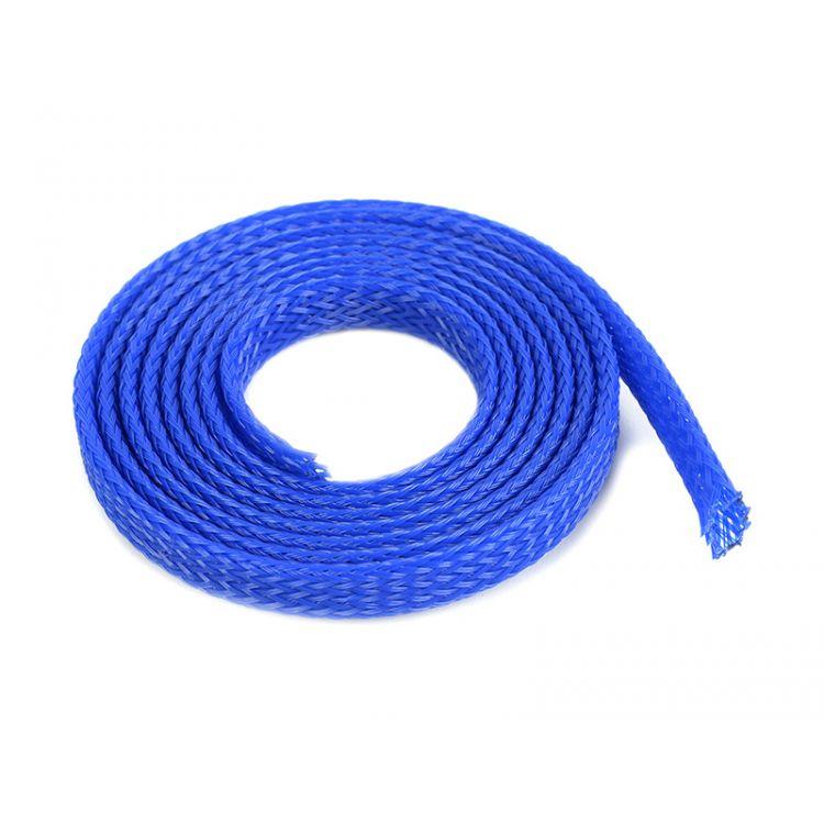 Ochranný kabelový oplet 6mm modrý (1m)