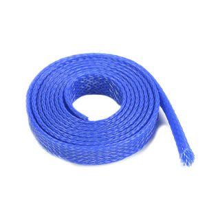 Ochranný kabelový oplet 8mm modrý (1m)