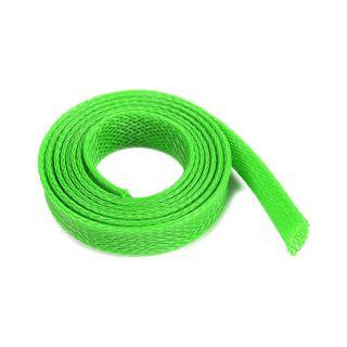 Ochranný kabelový oplet 10mm zelený (1m)