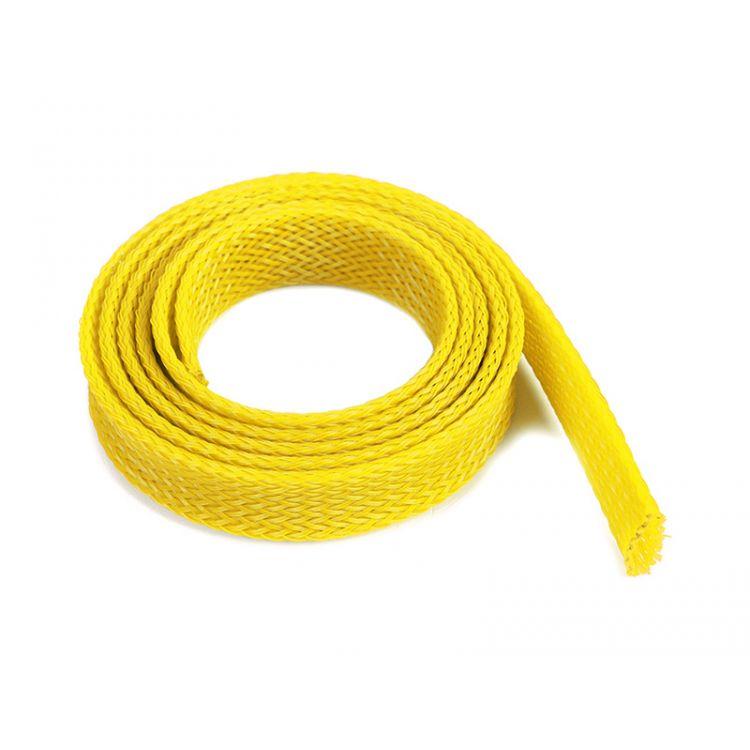 Ochranný kabelový oplet 14mm žlutý (1m)