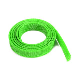 Ochranný kabelový oplet 14mm zelený (1m)