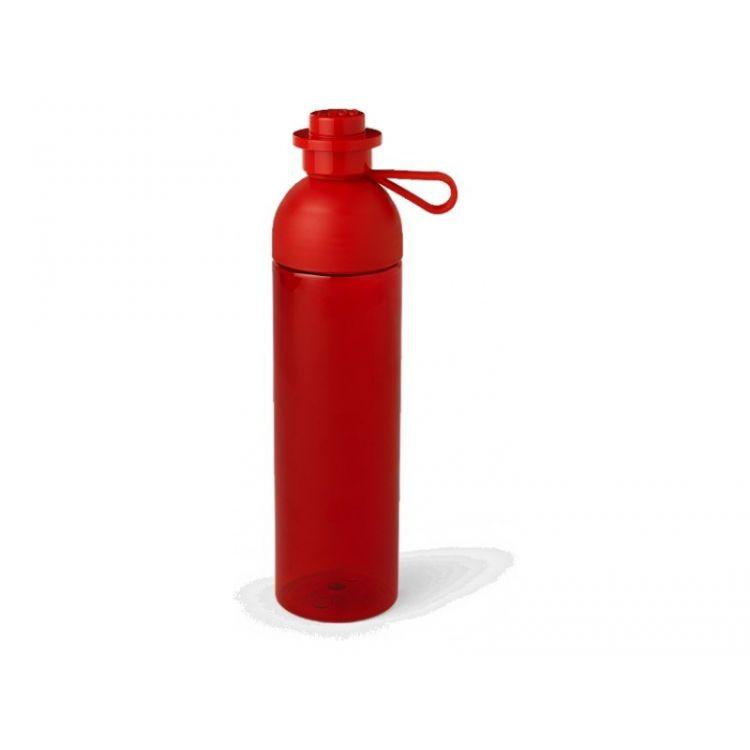 LEGO láhev na pití 0.74L červená