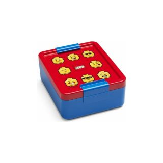 LEGO ICONIC Classic box na svačinu 170x135x69mm - modrý